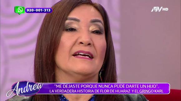 Flor de Horaras and 'Gringo Carl' face off in 'Andrea'.  (ATV)