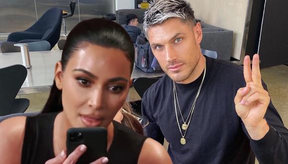 El estilista personal de la famosa socialité captó su lado menos conocido mientras le arreglaba su cabello. | Crédito: @chrisappleton1 / @kimkardashian / Instagram