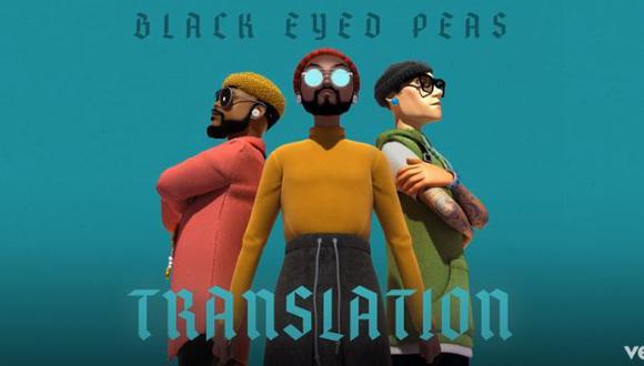 """El disco """"Translation"""" de los Black Eyed Peas está disponible en todas las plataformas digitales de streaming. (Foto: Captura Vevo)"""