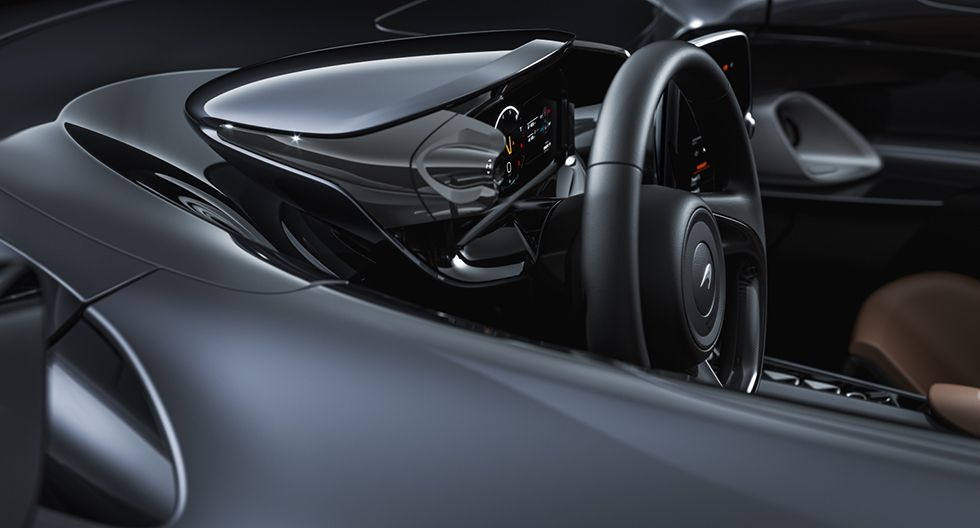 El automóvil más liviano de McLaren Automotive, con chasis y cuerpo de fibra de carbono a medida. (Foto: McLaren Automotive)