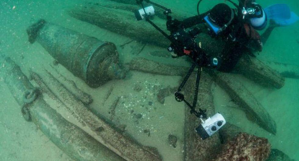 El hallazgo ocurrió a unos 12 metros de profundidad cerca de la población de Cascais en Portugal.