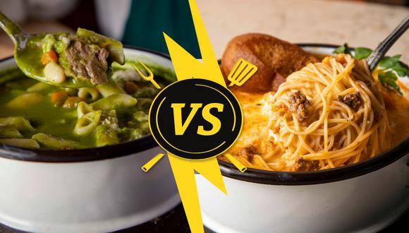 En este versus culinario pusimos a prueba dos sopas contundentes perfectas para el invierno: menestrón y sopa criolla. (Foto: El Bodegón)