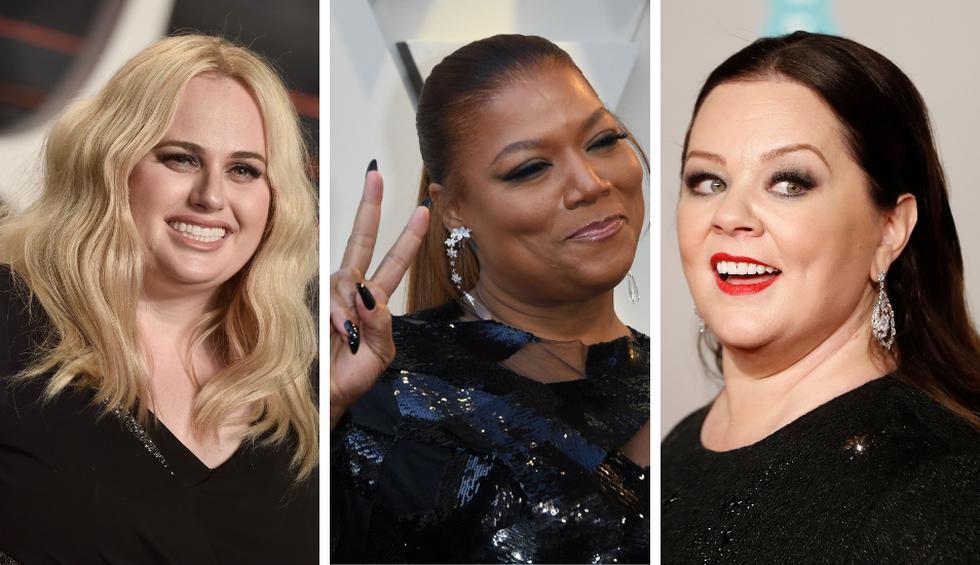 Rebel Wilson, Queen Latifah y Melissa McCarthy son algunas de las estrellas que se han hecho un nombre por su talento y encarnan a personajes impotantes en producciones. (Foto: AFP)