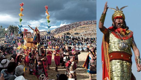 Izq.: el Inti Raymi 2020 se canceló por primera vez desde 1944, cuando comenzó a celebrarse su recreación histórica. Der.: David Ancca ha encarnado al inca en tres ocasiones (2017, 2018, 2019). (Fotos: iStock/AFP)