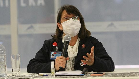 La ministra de Salud, Pilar Mazzetti, se mostró en contra de que el partido Perú vs. Argentina se juegue con hinchas en las tribunas del Estadio Nacional (GEC)