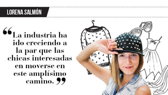 "Lorena Salmón: ""Trabajo de moda"""