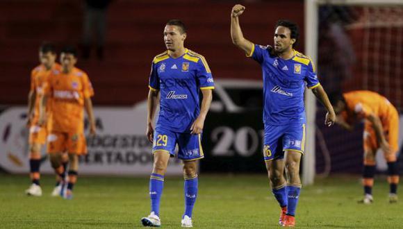 Tigres venció 2-1 a 'U' de Sucre por octavos de Libertadores