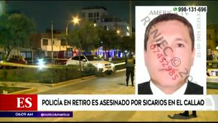 Callao: Policía en retiro es asesinado a balazos