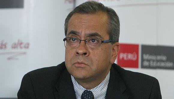 Minedu: ministro Jaime Saavedra habría contraído dengue