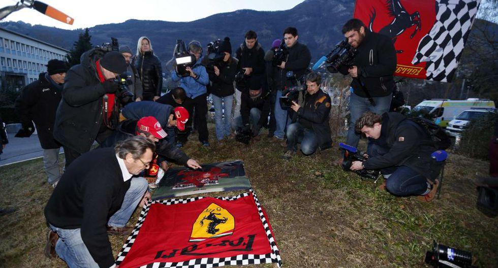 Los fanáticos de Michael Schumacher muestran de diferentes maneras su apoyo al piloto [FOTOS] - 5