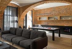 En esta casa de 100 m2 el comedor es una mesa de billar | FOTOS