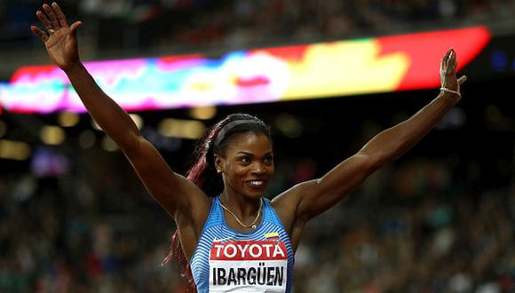 Caterine Ibargüen ganó medalla de oro para Colombia en triple salto en Río 2016. | Foto: AFP