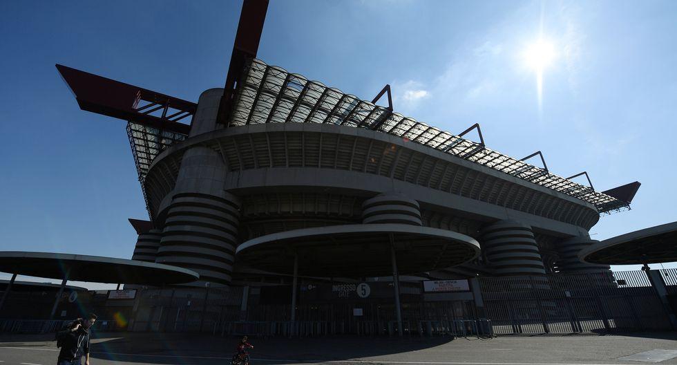 El estadio San Siro en Milán. (REUTERS / Daniele Mascolo).