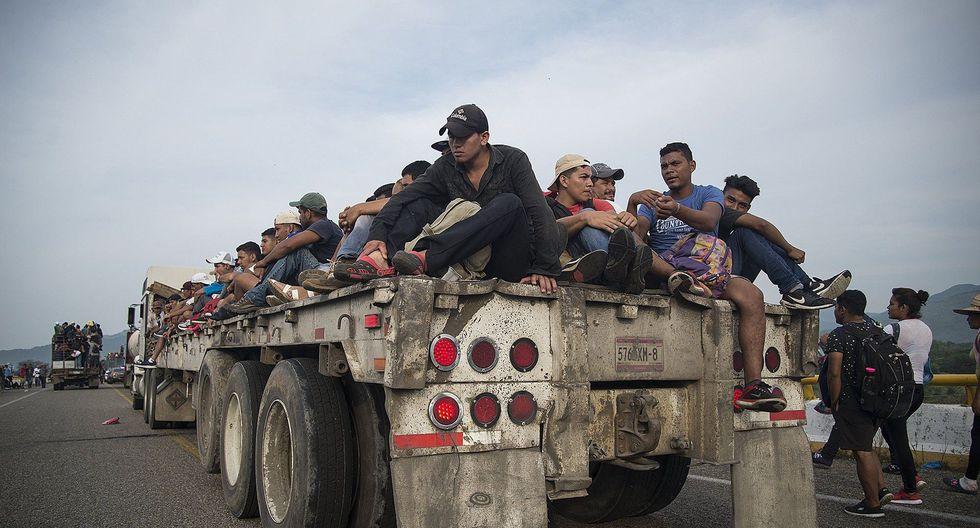 Caravana de migrantes: Estados Unidos enviará 5.200 soldados a la frontera con México. (EFE).