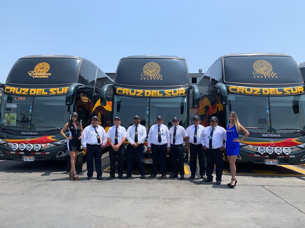 Cruz del Sur realizó una inversión de S/ 17.5 millones para renovar su flota de buses. (Foto: Cruz del Sur).
