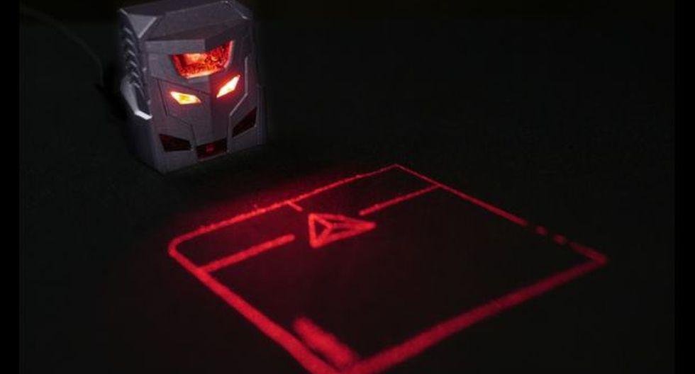 ODiN, el primer mouse de proyección láser