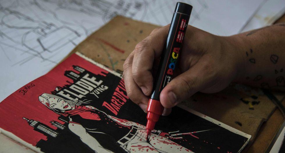 Dibujo y texto, Alexandre de Maio y el periodismo cómic - 3