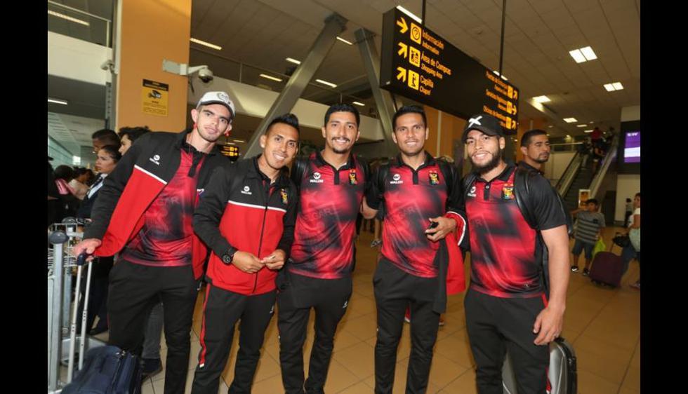 Las postales de la llegada de Melgar a Lima tras clasificación a fase de grupos de Copa Libertadores. (Foto: Violeta Ayasta / GEC)