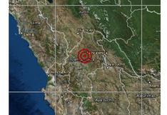 Sismo de magnitud 4,6 se registró esta tarde en Huancavelica