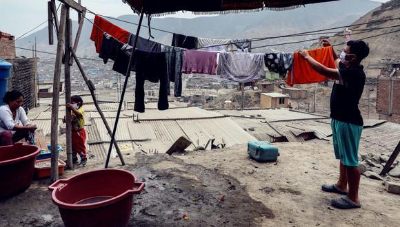 Pobreza sube a niveles no vistos desde el 2010. (Foto: EFE)