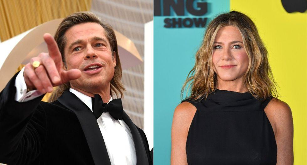 Brad Pitt y Jennifer Aniston se reencontraron en el after party del Oscars 2020. (Foto: AFP)