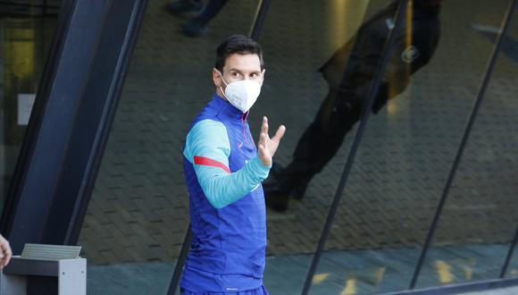 PSG confirma interés por Lionel Messi. (Foto: EFE)