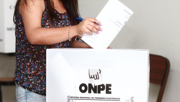 La Oficina Nacional de Procesos Electorales (ONPE)  ha venido realizando avances sobre el conteo de votos de las Elecciones 2021. (Foto: GEC)