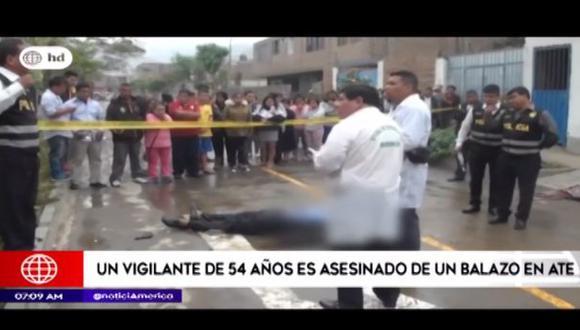 Marisol Silva, esposa de la víctima, contó a América Noticias que Palomino le dijo que iba a salir a tomar licor en la calle. A las pocas horas, los policías llegaron a su vivienda para informarle del crimen de su cónyuge.