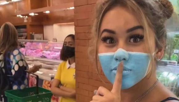 El clip, publicado el 22 de abril y que ha sido retirado de sus cuentas tras la polémica, ha llevado a las autoridades de Bali a denunciar a Josh Paler Lin y Leia Se, quienes publican todo tipo de bromas en las redes sociales. (Captura de pantalla/Instagram).