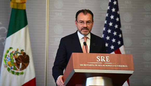 Luis Videgaray, ministro de Relaciones Exteriores de México. (Foto: AFP/Ronaldo Schemidt)
