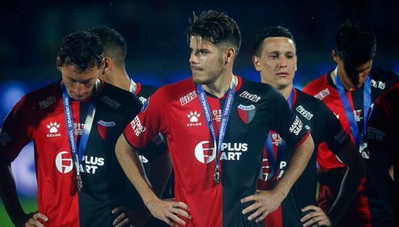 Colón de Santa Fe cayó en la final ante Independiente del Valle por 3 a 1. (Getty Images)
