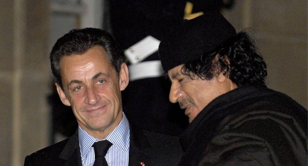 La justicia francesa abrió una investigación judicial en 2013, un año antes un informe periodístico reveló que Nicolas Sarkozy habría recibido unos 62 millones de dólares provenientes de Libia. (EFE)