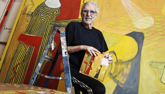 Para el artista plástico Ramiro Llona, tener un rompecabezas de su obra es un sueño cumplido y anhelado por mucho tiempo.