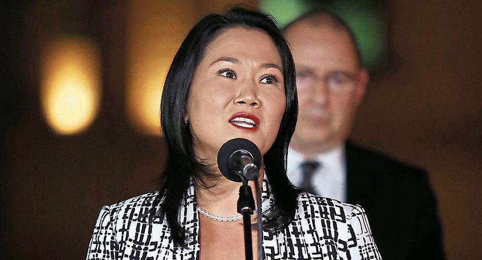Keiko Fujimori no se pronunció ayer sobre el pedido para interrogar a Marcelo Odebrecht. (Foto: El Comercio)