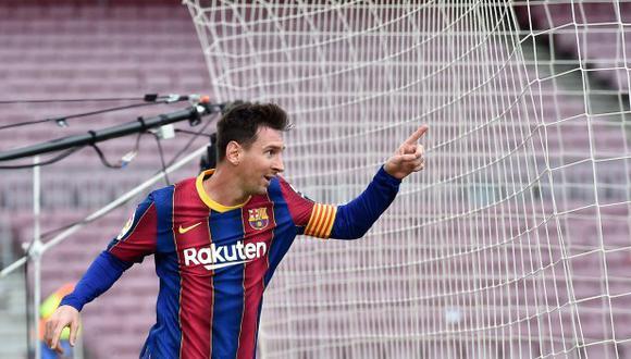 Lionel Messi se acerca a la renovación con Barcelona. (Foto: AFP)