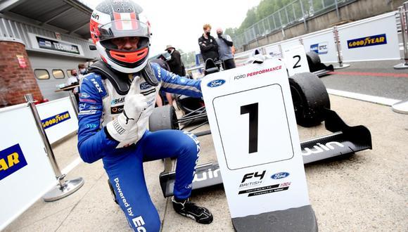 Matías Zagazeta logró su primera victoria de la temporada, que lleva nueve carreras en tres jornadas. (Foto: Itea Comunicaciones)