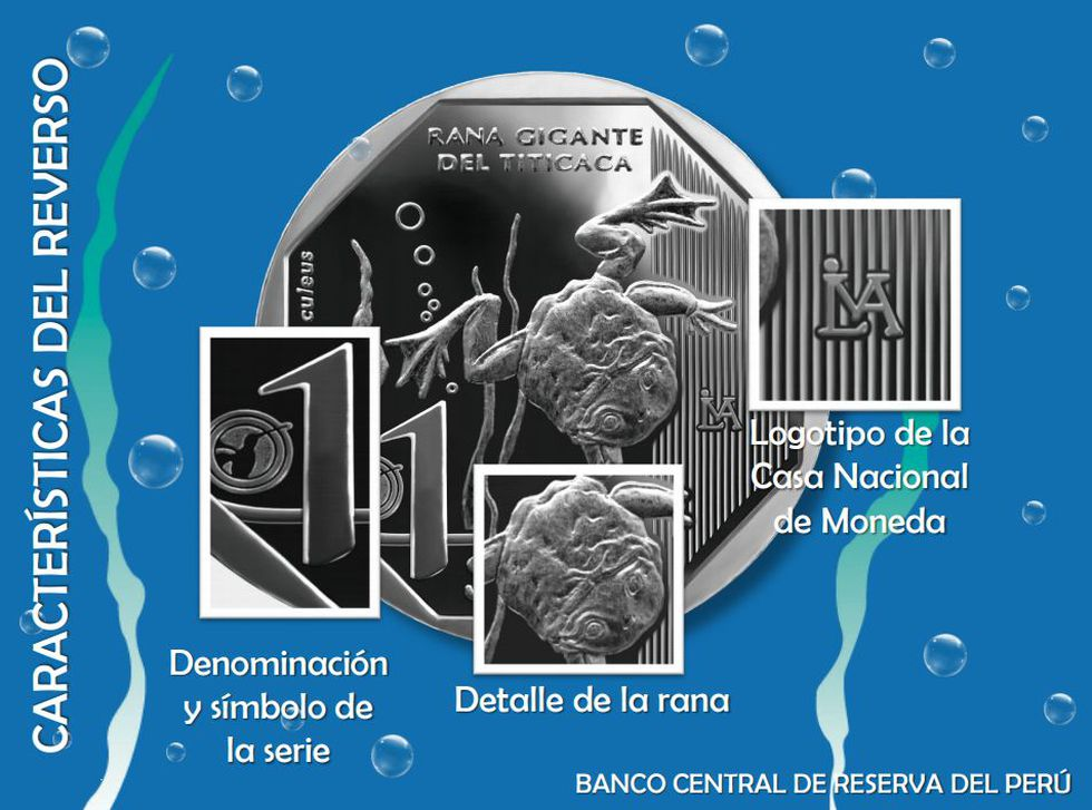 Algunas de las características de la moneda. (BCR)