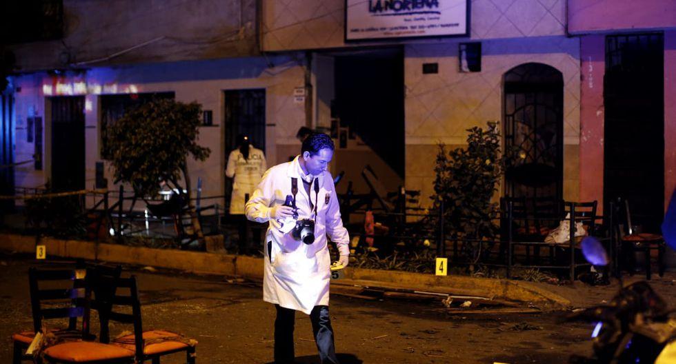 Al menos doce heridos y un menor fallecido dejó la deflagración de seis balones de gas en conocido restaurante La Norteña. (Foto: Renzo Salazar)