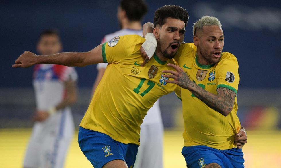 Chile cayó 1-0 ante Brasil por Copa América. Foto: EFE