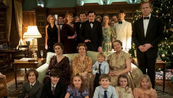 """El elenco de """"The Crown"""" en la cuarta temporada de la serie. Esta producción creada por Peter Morgan fue la gran ganadora en los Golden Globes 2021. (Foto: Netflix)"""