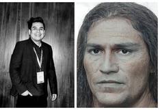 El peruano que trabaja en Silicon Valley y   reconstruyó el rostro de Túpac Amaru con inteligencia artificial