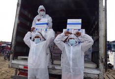 Loreto: entregan más de 49 toneladas de alimentos a comunidades nativas fronterizas