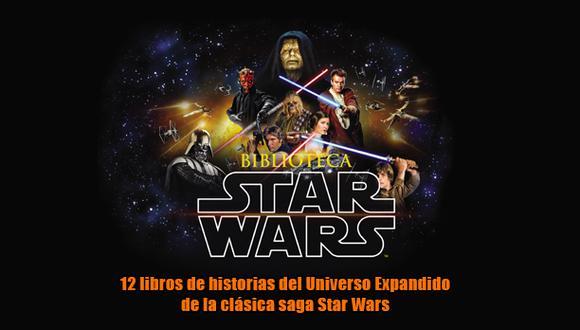 Biblioteca Star Wars, la fuerza renace