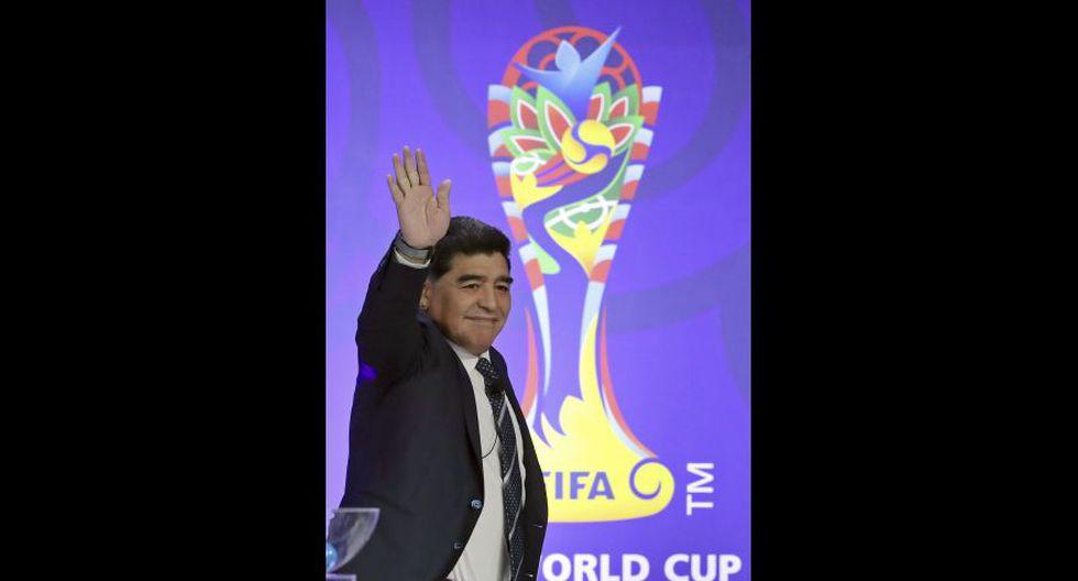 Diego Armando Maradona-Argentina. (Foto: agencias)