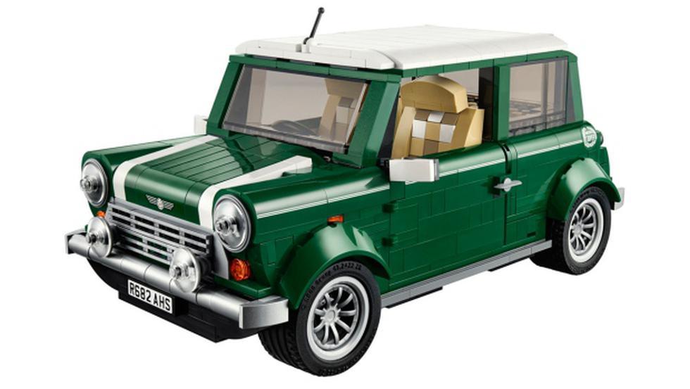 Un Mini Cooper hecho en piezas de Lego - 1