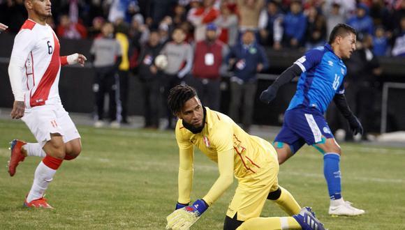 Perú cerró la fecha doble de amistosos con una inesperada derrota frente a El Salvador. (Foto: EFE)