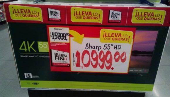 Poner una coma donde no correspondía generó que decenas de clientes se pelearan por llevar el artefacto. La tienda tuvo que asumir su error y vender los televisores al precio indicado.
