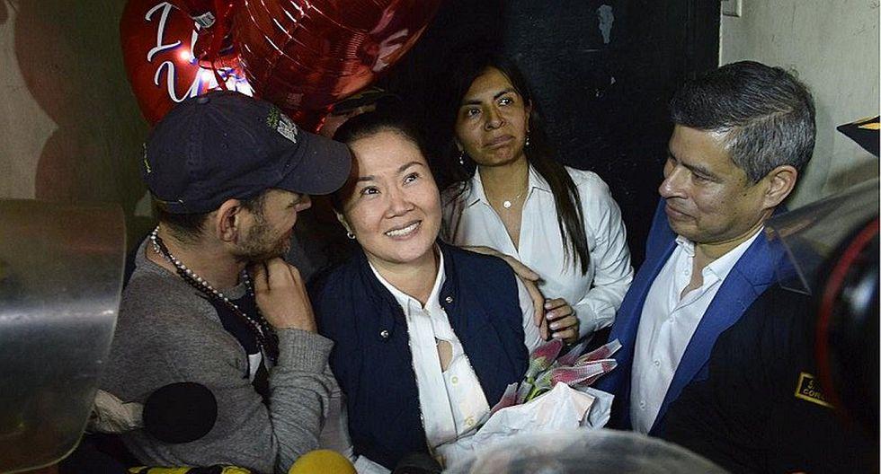 Keiko Fujimori recuperó su libertad hace más de una semana. (Foto: GEC)