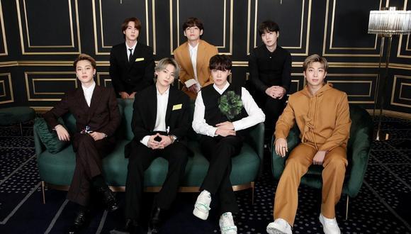 """BTS anuncia sorpresas en su paso por los Grammy 2021: """"Nos morimos de ganas por volver a ver a nuestro ARMY"""". (Foto: Twitter / @enews)."""