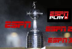 ESPN EN VIVO: ver Copa Libertadores en directo hoy